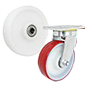 Plastic wheels (polyamide) for high loads