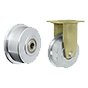 Flange wheels made of cast steel